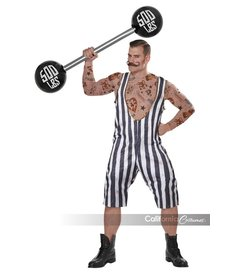 California Costumes Vintage Circus Strongman
