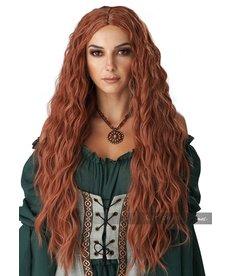 California Costumes Renaissance Maiden Wig