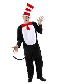 elope Adult Dr. Seuss The Cat in the Hat Costume