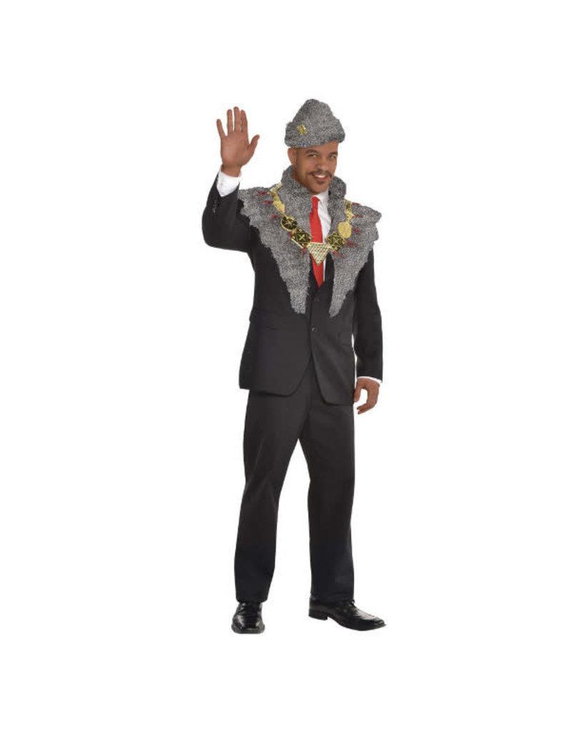 Amscan Adult Prince Akeem Costume Kit (Coming to America)