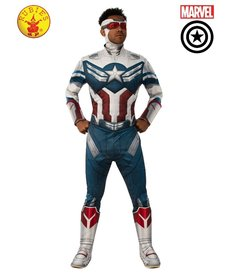 Rubies Costumes Men's Deluxe Captain America Costume (The Falcon and the Winter Soldier)