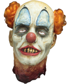 Decapitated Clown Head Hanging Prop
