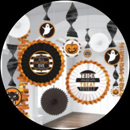 Indoor Halloween Decorations & Party Supplies