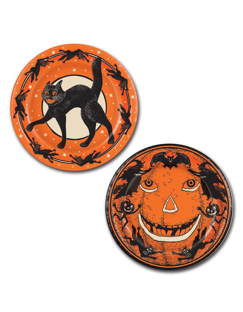 "9"" Vintage Halloween: Plates (8pk.)"