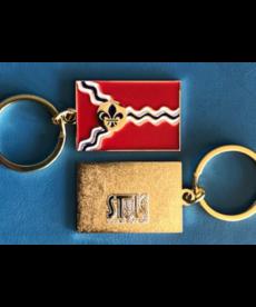 STL Flag Keychain