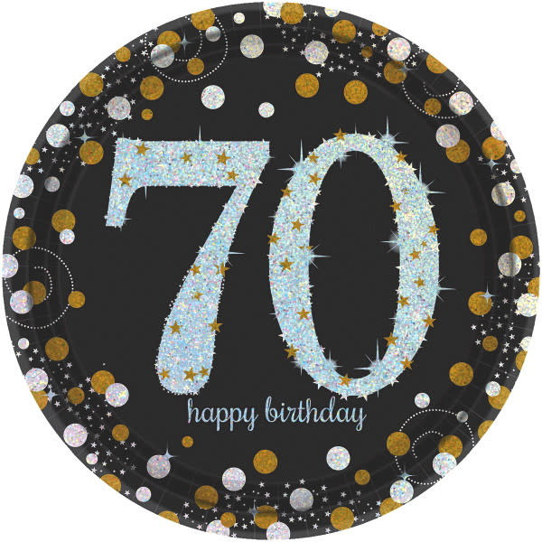 70th Birthday Party Supplies