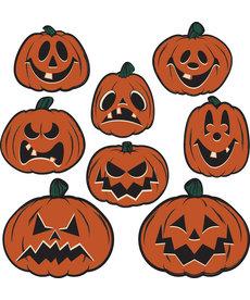 Vintage Halloween: Pumpkin Cutouts (8pk.)