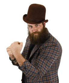elope Steamworks Derby Hat Brown