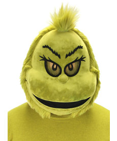 elope Dr. Seuss The Grinch Plush Mouth Mover Mask