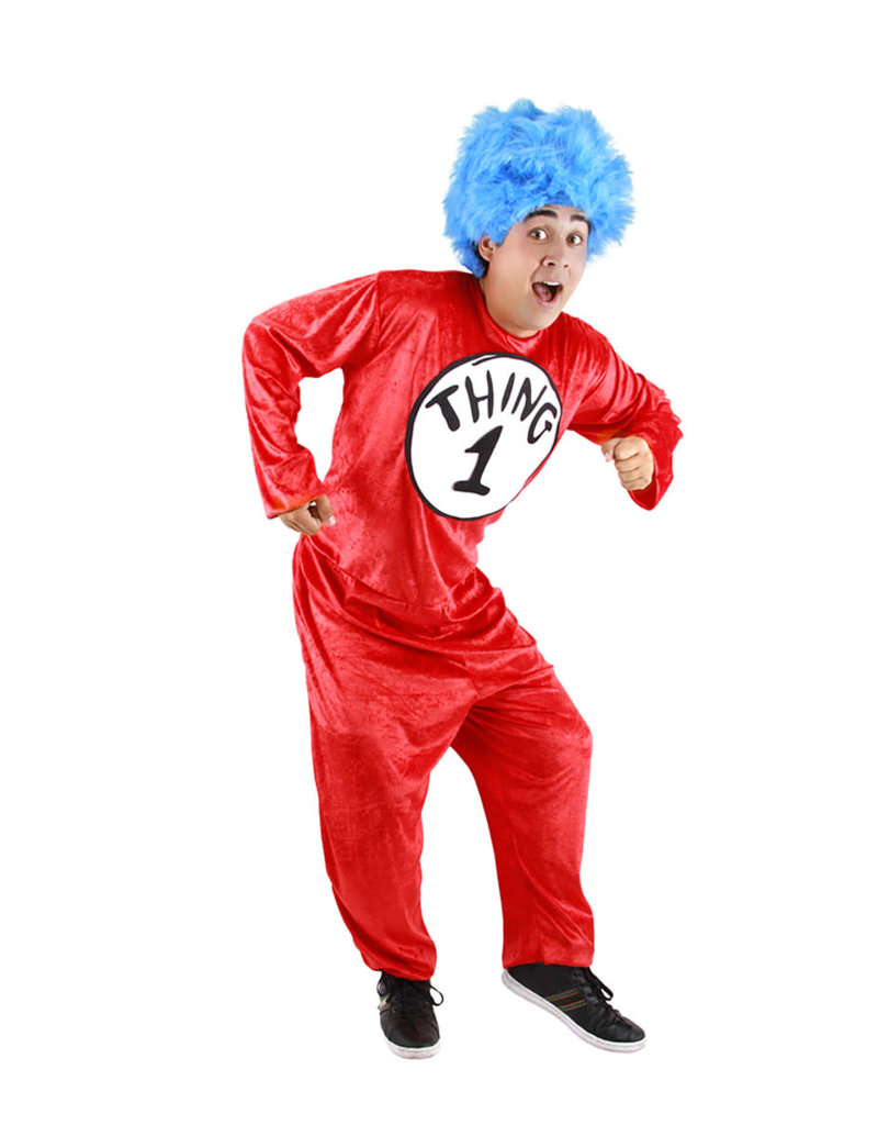 elope Men's Dr. Seuss The Cat in the Hat Thing 1&2 Costume