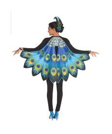 Amscan Peacock Printed Fabric Wings