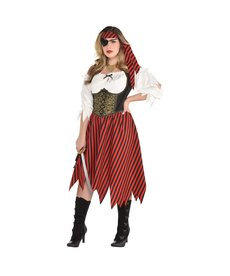 Amscan Women's Plus Size Pirate Beauty Costume - XXL