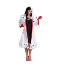 Disguise Costumes Women's Deluxe Cruella Jacket