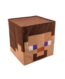 Disguise Costumes Minecraft Steve Block Head Mask