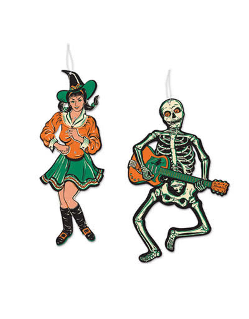 Vintage Halloween: Jointed GoGo Dancers (2pk.)