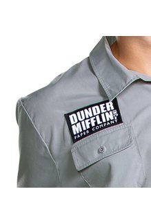 Disguise Costumes Adult Dunder Mifflin Warehouse Employee Costume (The Office)