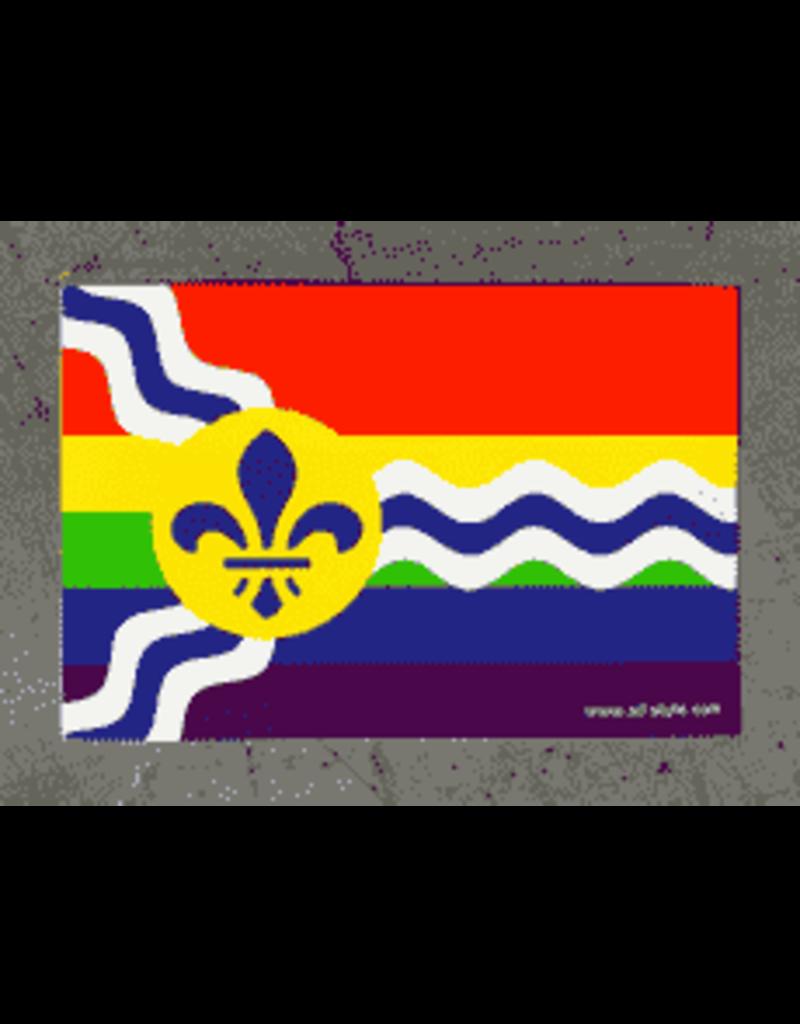 STL Pride Flag Sticker