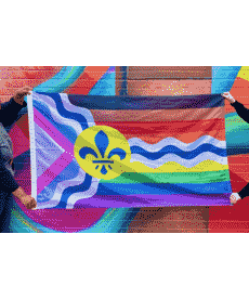 STL Inclusive Pride Flag - 3'x5'