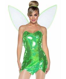 Women's Green Fairy Costume