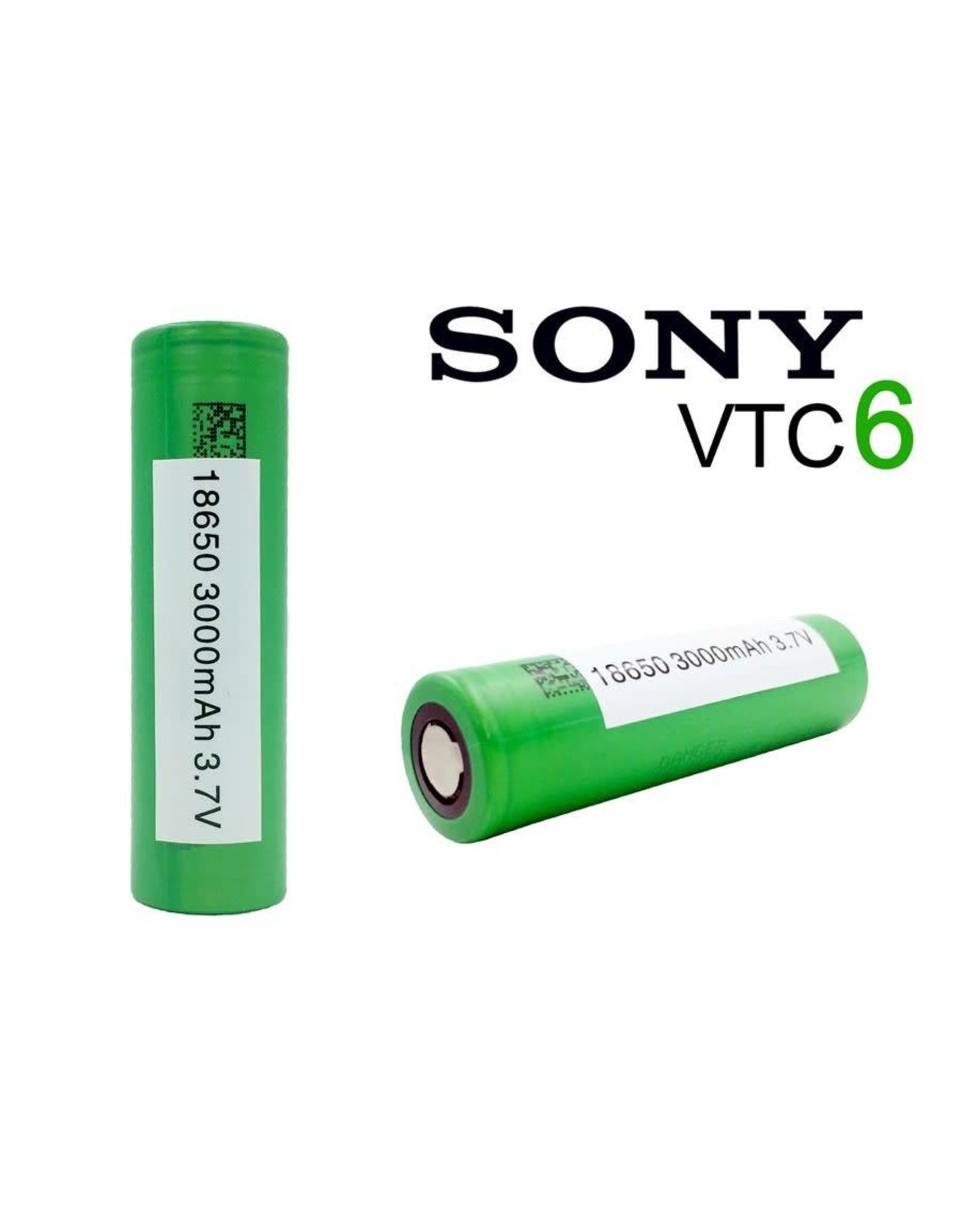 """Sony VTC6 Batteries """"Green"""""""