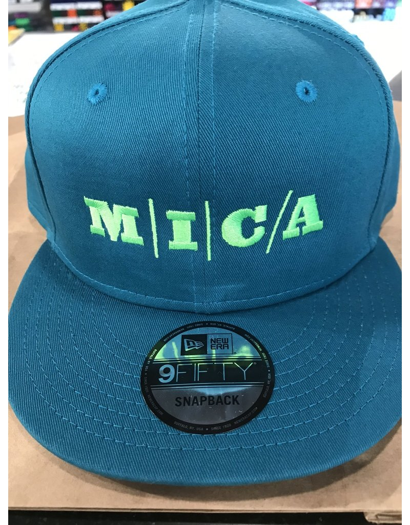 9Fifty MICA Cap Teal/Green Snapback