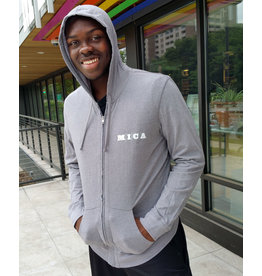 District **CLEARANCE**MICA LT Weight Zip Hoodie