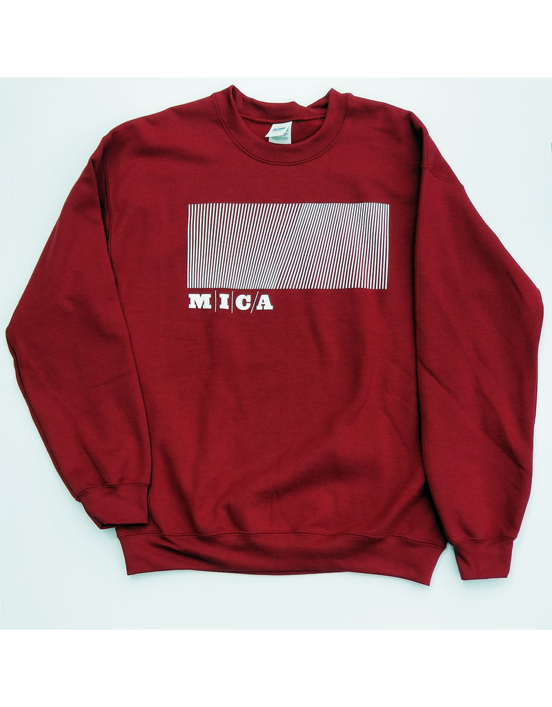 MICA Crewneck Sweater Rectangle Design