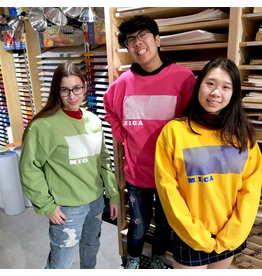 MICA Crewneck Sweater Rectangle Design
