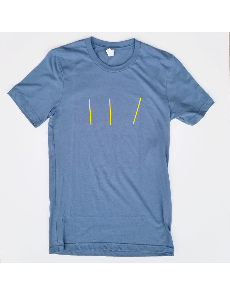 Bella + Canvas MICA 3 Lines Color Tee