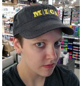 MICA Military Cap Black/Yellow