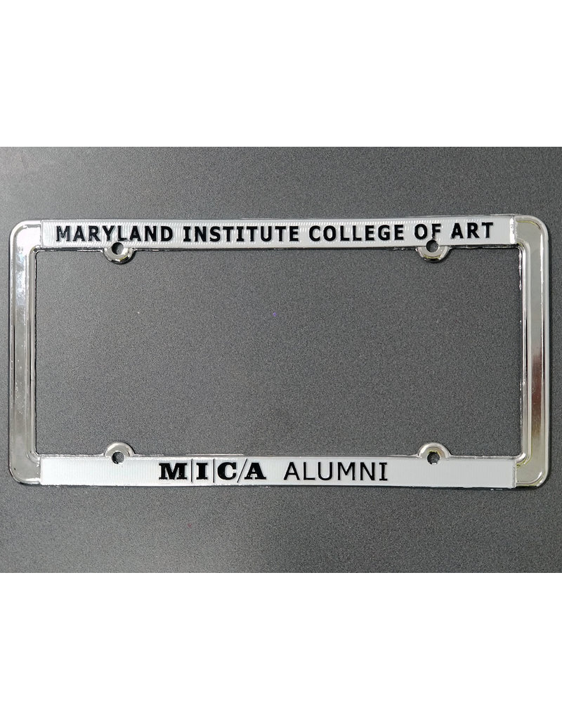 MICA Alumni Metal License Frame