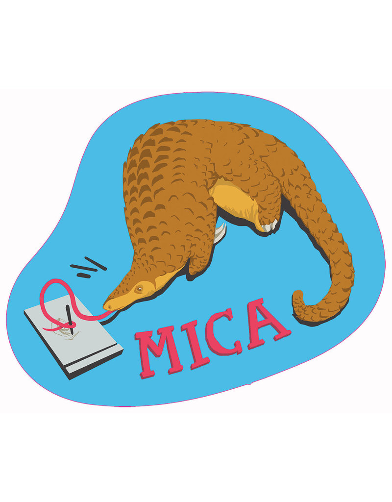 MICA Sticker Student Made
