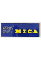 """MICA Sticker - Sticky Back Vinyl 3.5"""" X 10"""""""