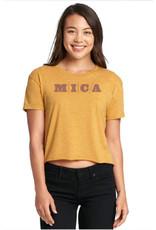 MICA Crop Top Tee