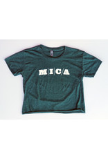 Next Level MICA Crop Top Tee