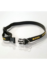 MICA Dog Collar (black with yellow logo)