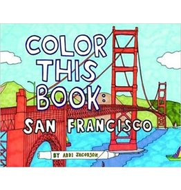 Color This Book: San Francisco