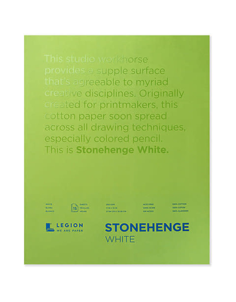 Stonehenge Papers Stonehenge Pads 9X12 White