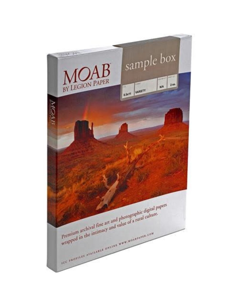 Moab Moab Sample Box 8.5 X 11 [2 Sheets/Ea]