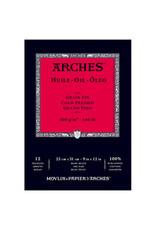 Arches Arches Oil Paper Pads, 9'' X 12'' 12 Shts./Pad