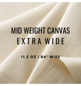 """C.R. Daniels Mid Weight Canvas 84"""" 11.5Oz By The Foot"""