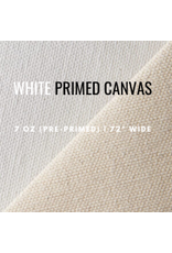 C.R. Daniels Primed Canvas 72'' White By The Foot
