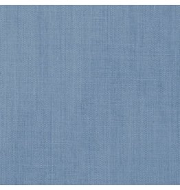 Carolina Cloth Carolina Broadcloth Dusty Blue 44'' By The Foot
