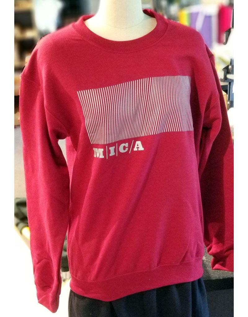 Gildan MICA Crewneck Reflective Logo Sweatshirt