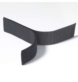 "Uline Velcro 1"" Black Adhesive Backed By The Foot"