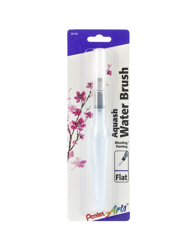 Pentel Aquash Water Brush Flat