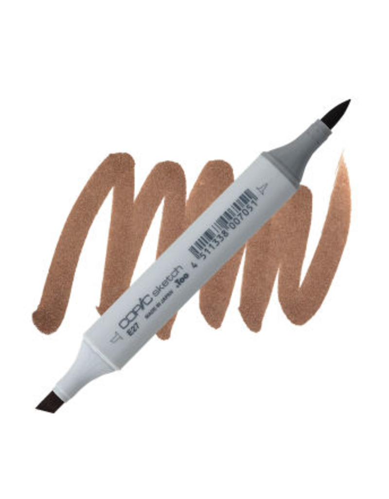 Copic Copic Sketch E27 - Milk Chocolate