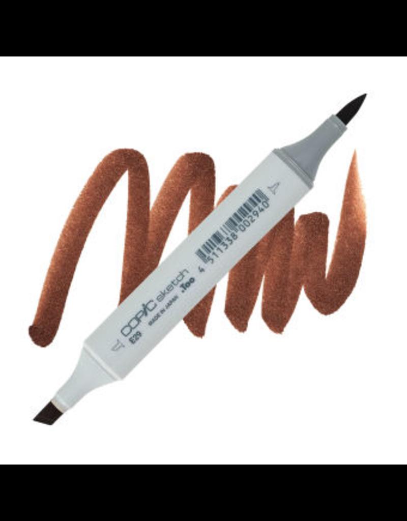 Copic Copic Sketch E29 - Burnt Umber