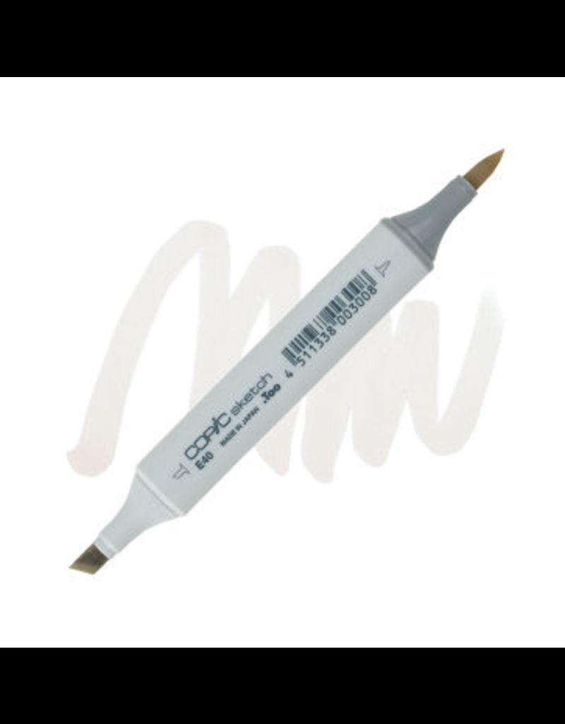 Copic Copic Sketch E40 - Brick White
