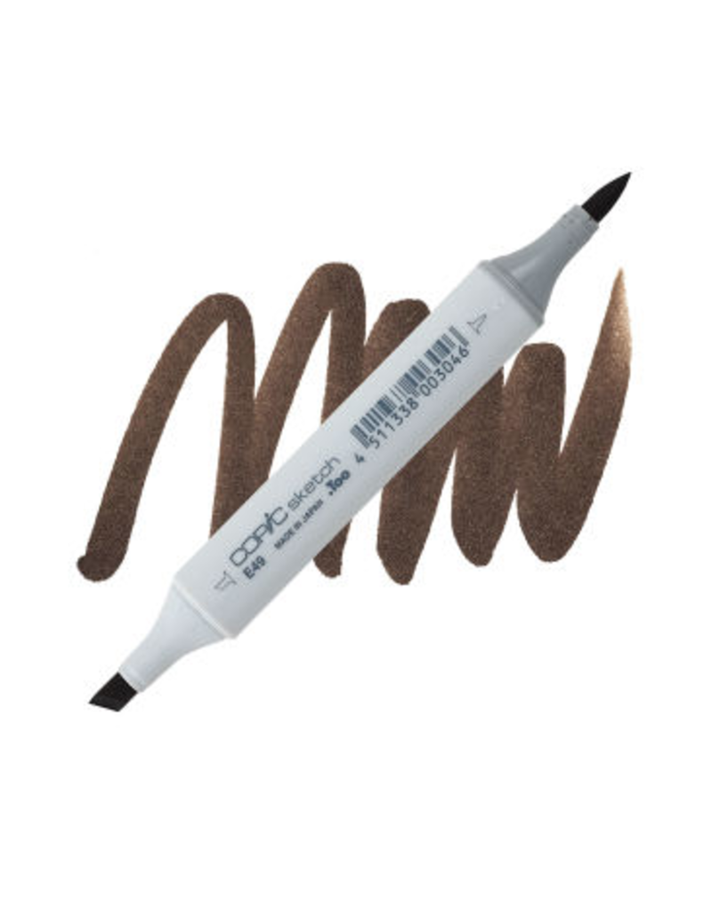 Copic Copic Marker E49 - Dark Bark